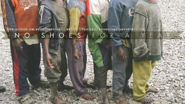 No Shoes For A Year by Richard Hudgins
