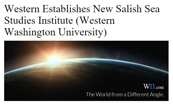 Salish Sea Studies Institute