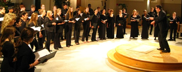 2012 Ontario Youth Choir conducted by Michael Zaugg