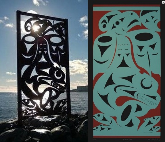 Salish Sea Sculpture and Giclee