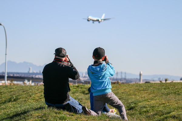 Jay and his son doing some aviation photography