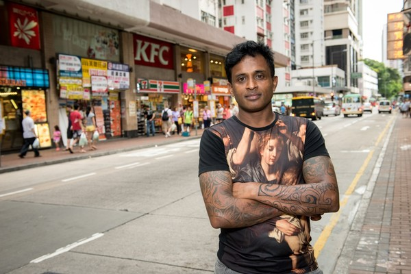 Ajith, Edward Snowden's bodyguard in Hong Kong