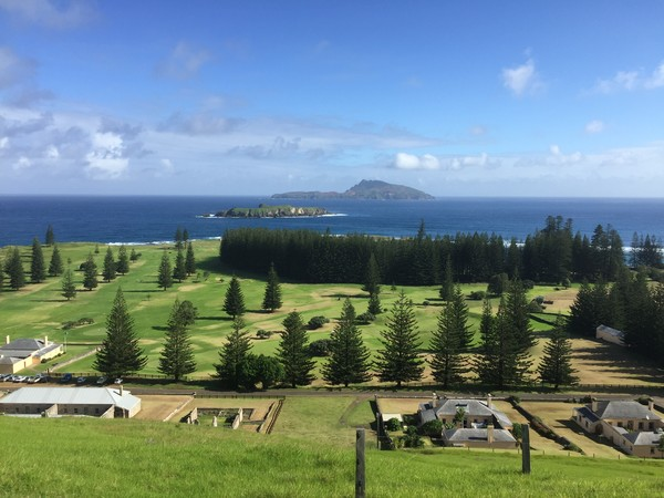 Beautiful Norfolk Island - a jewel in the south Pacific Oean