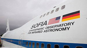 NASA's 747 flying observatory