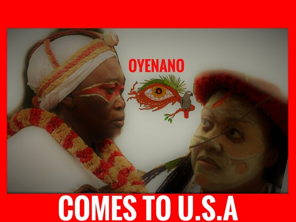 Madame Bernadette Owasango Rebienot , Head mistress healer of Oyenano Village, Gabon comes to the US for the installation of Bwiti Temple!!
