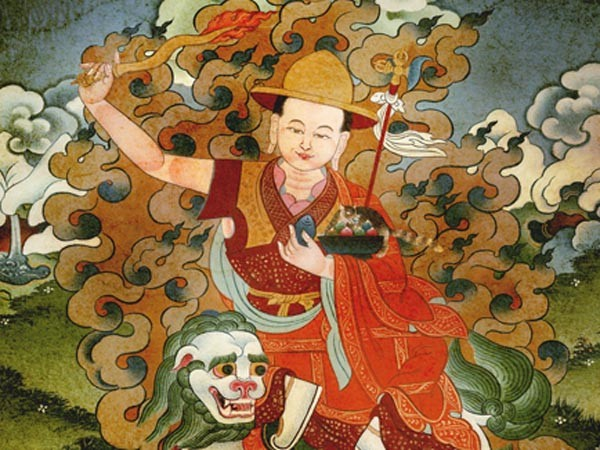 The peaceful form of the Dharma Protector Gyalchen Dorje Shugden