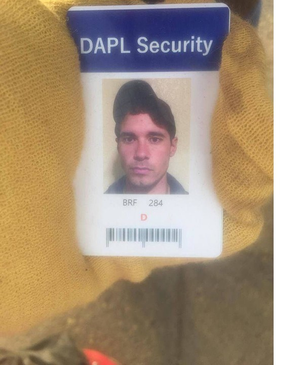 Mercenary's DAPL security badge