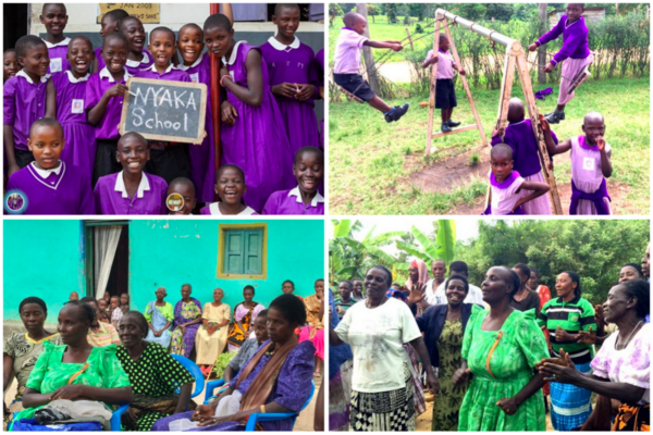 Nyaka AIDS Orphan Project students and grannies