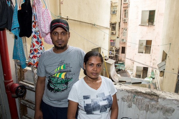 Supun (left) and Nadeeka (right) kept Edward Snowden safe.