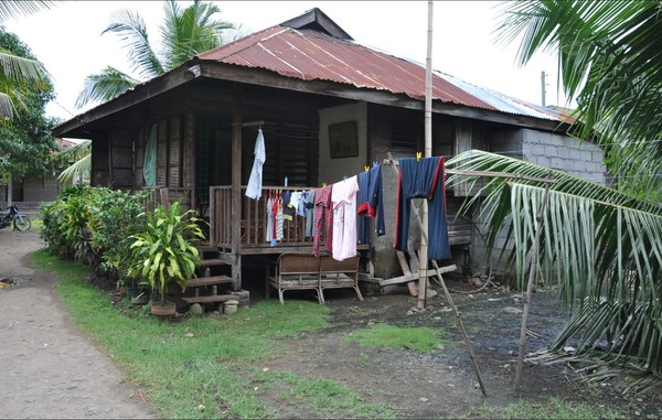 The Tiempo's home in Tuban Philippines