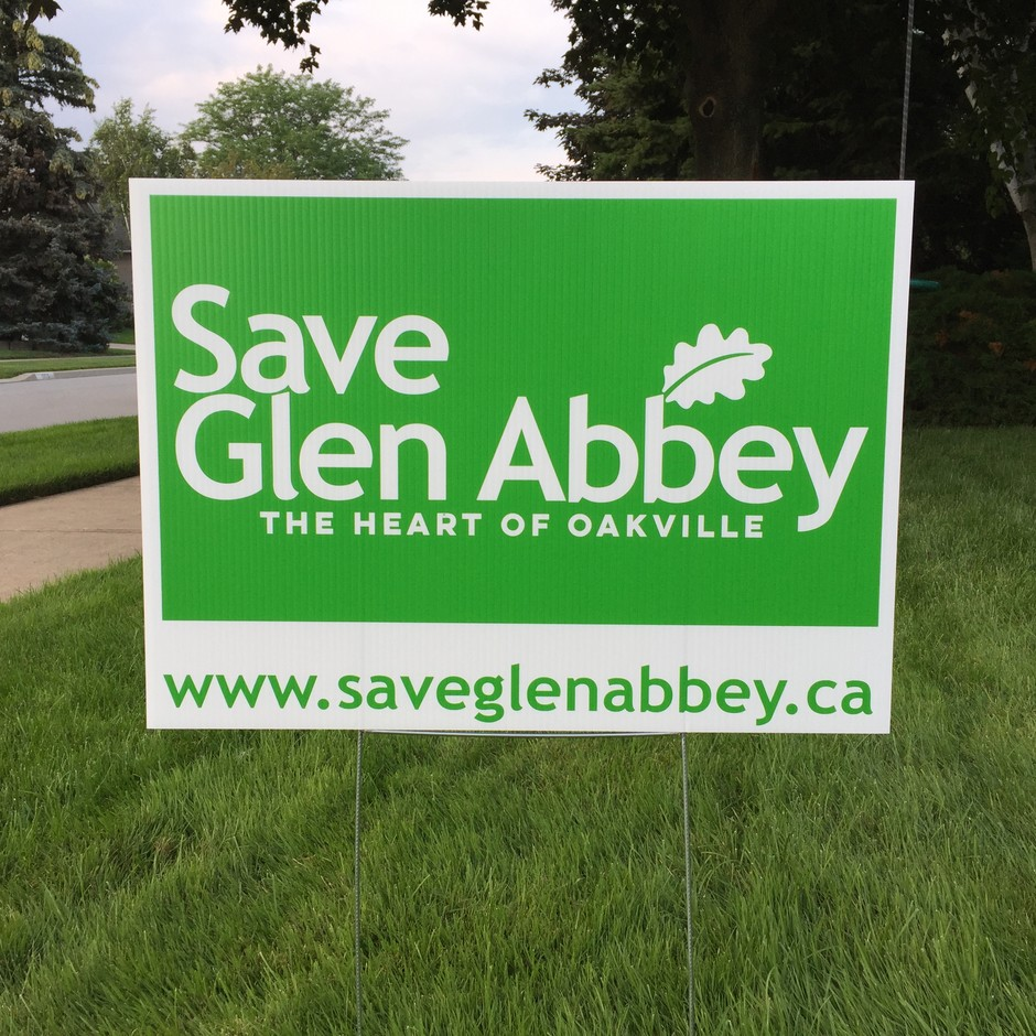 Lawn sign 2017