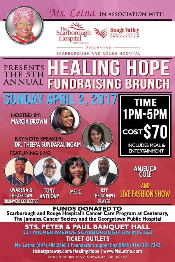 2017 Flyer Ms. Letna Healing Hope Fundraising Brunch